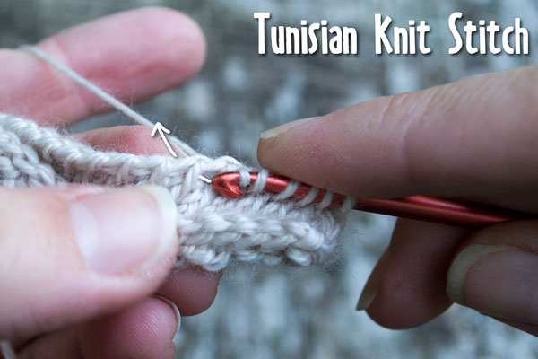Tunisian Knit Stitch Tutorial